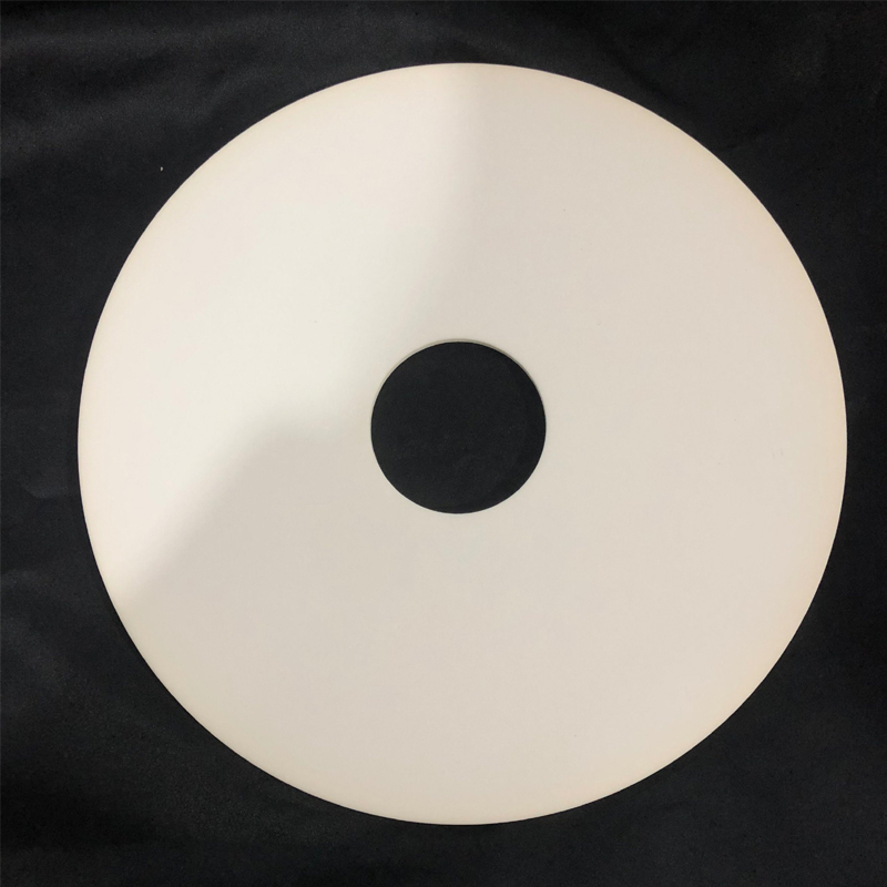 Plaque en céramique d'oxyde d'aluminium