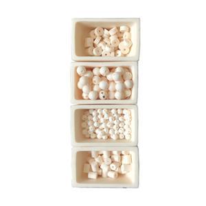 Aluminiumoxid Keramik Multi Bores Perlen