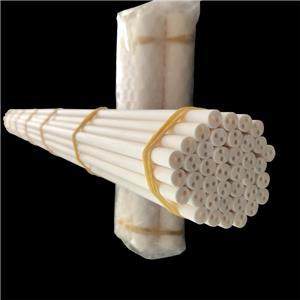 Industrielles 2-Loch-Rohr aus Aluminiumoxidkeramik