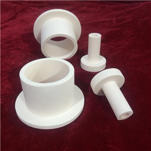 Wear-Resisting Alumina Ceramic Flanges Parts