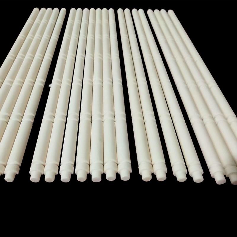 Slotted Alumina Ceramic Rod