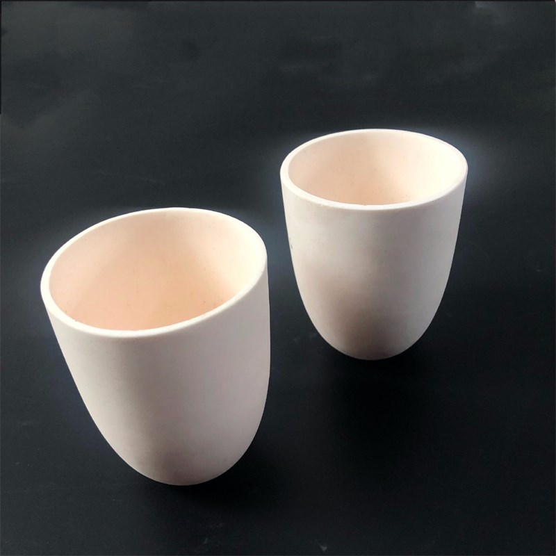 Alumina Ceramic Melting Metal Crucible