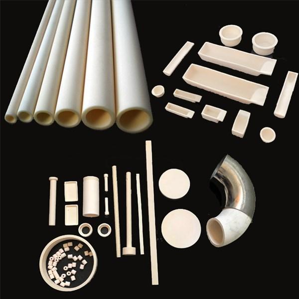La production de produits céramiques d'alumine se poursuit.