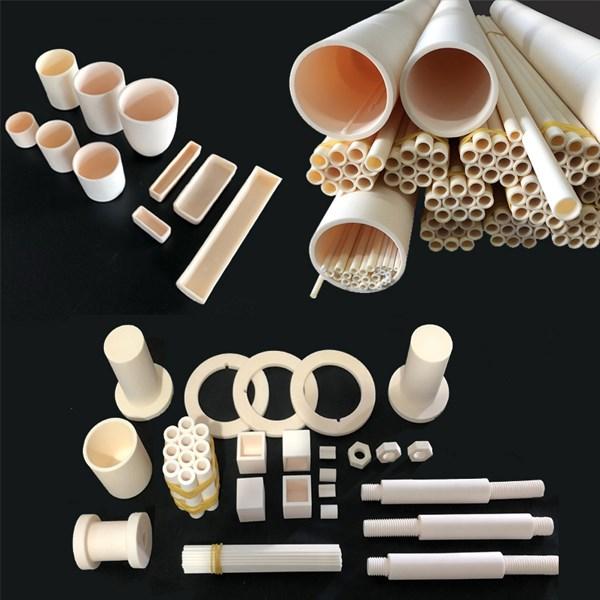 Deuxième méthode de nettoyage du tube en céramique d'alumine: avec des outils pour laver