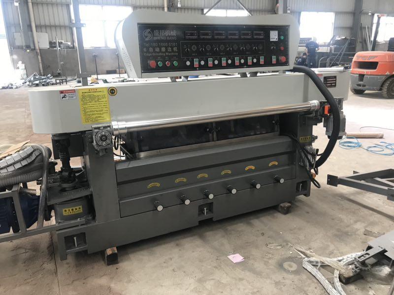 6head auto CNC round edge chamfering machine