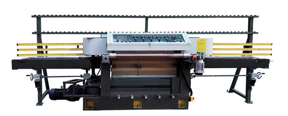 vertical round edging machine