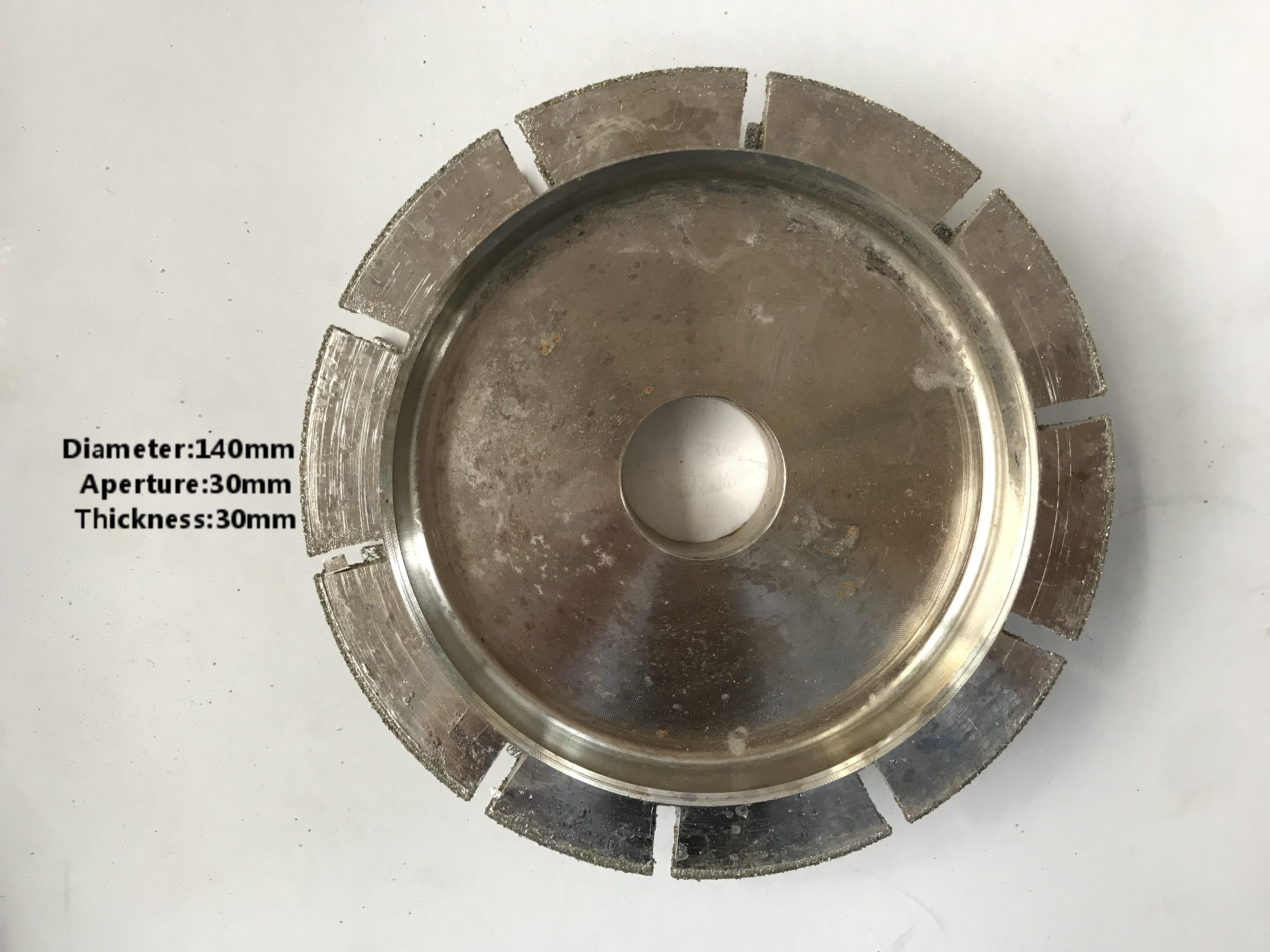 T.30mm plating wheel