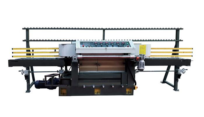 6head Pietra Full-automatica CNC rotonda bordo smussatura Scanalatura-macchina di taglio