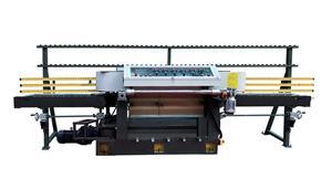 6head Stone Full-automatic CNC Round Edge Chamfering Grooving-cutting Machine