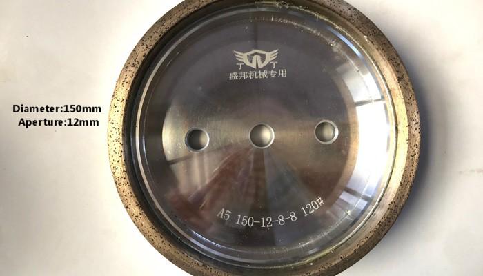 D.150mm Diamound Molding Wheel