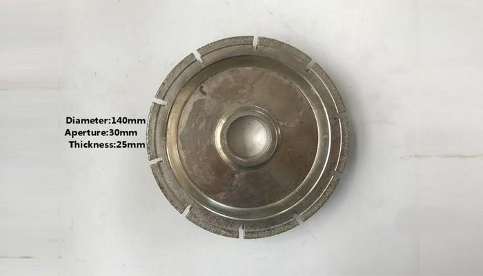 T.25mm Plating Molding Wheel