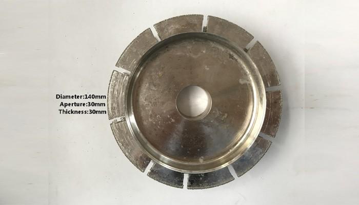 T.30mm Plating Molding Wheel
