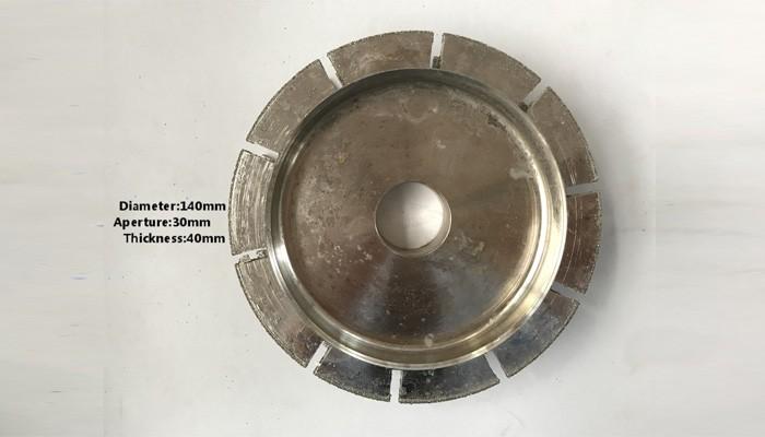 T.40mm Plating Molding Wheel