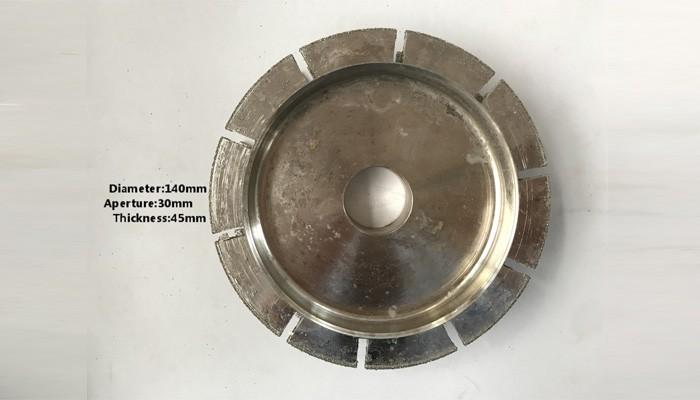 T.45mm Plating Molding Wheel