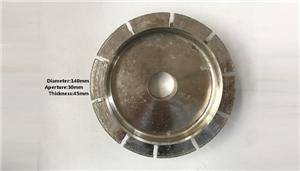 T.45 मिमी चढ़ाना मोल्डिंग पहिया