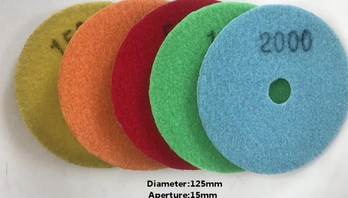 D.125mm Wet Polishing Pad