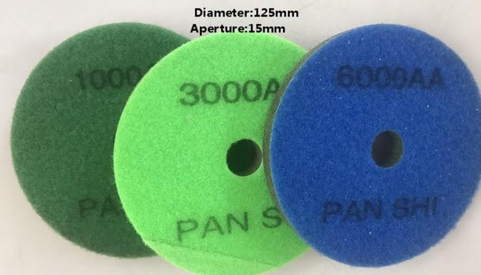 D.125mm Sponge Polishing Pad