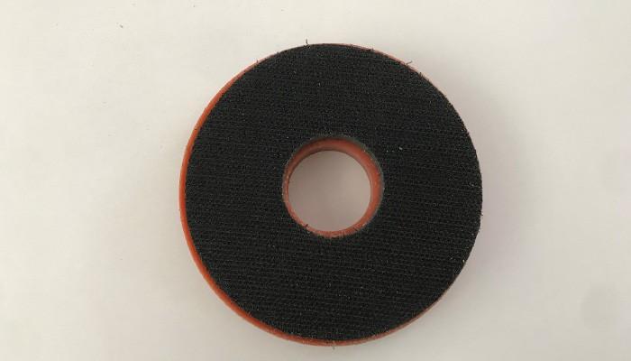 D.100mm Plastic Hard Snail Polishing Backer Pad