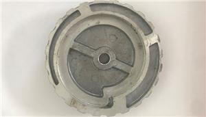 D.125mm Snial ताला कठोर एल्यूमीनियम पॉलिश Backer पैड