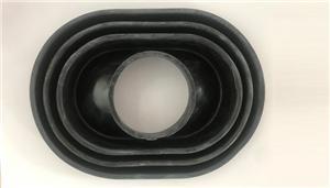 Ovel Small Hole Waterproof Rubber Case