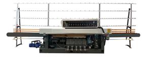 11heads स्वचालित सीधी रेखा किनारे chamfering और मोटाई मशीन