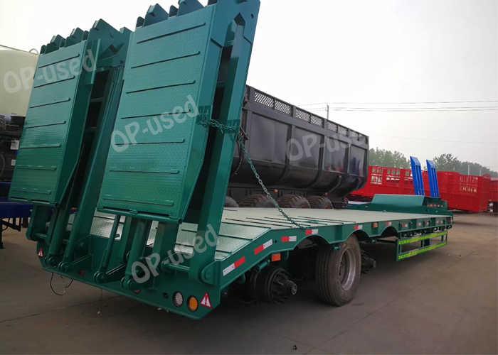 60 ton lowboy trailer