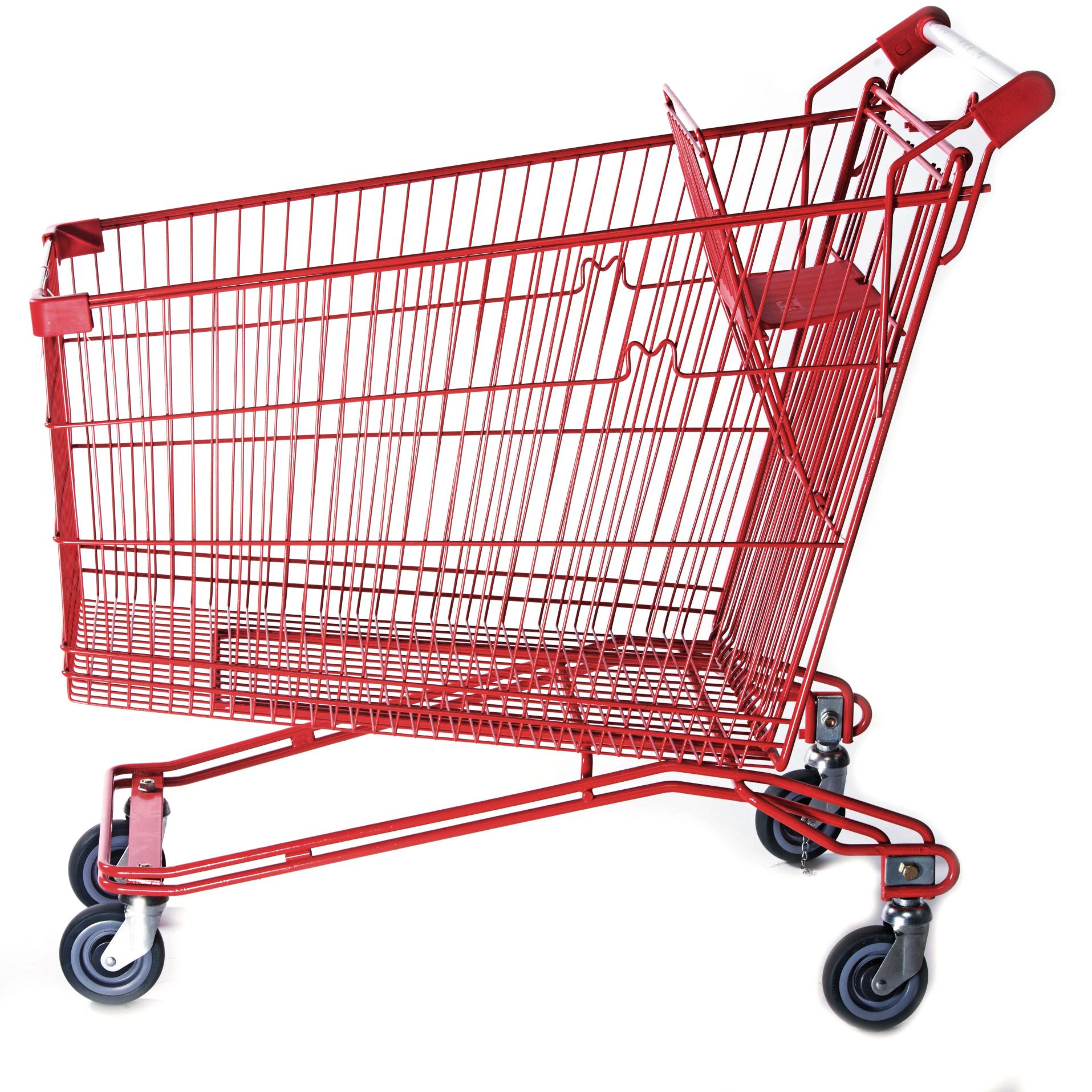 grocery shopping trolley