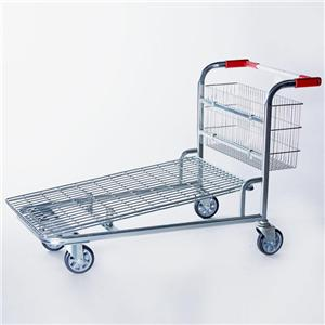 Large Folding Shopping Trolley