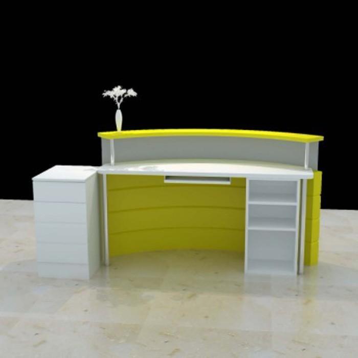Wood Cashier Desk