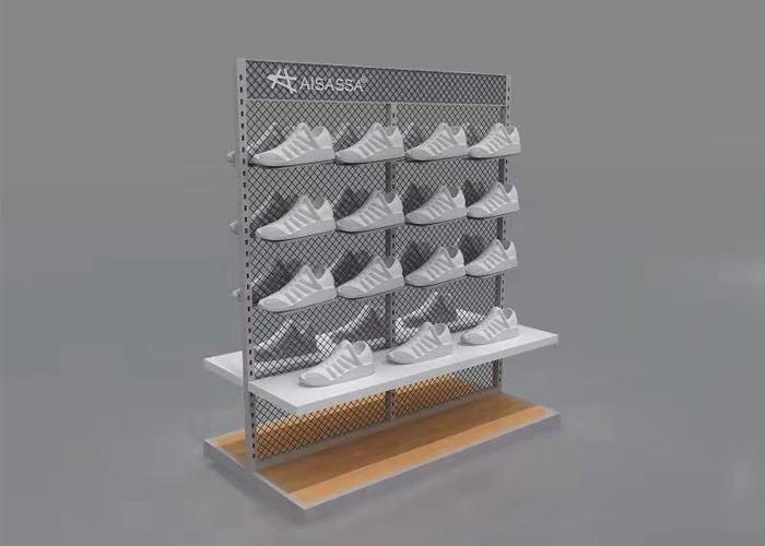 تصميم محل عرض الاحذية