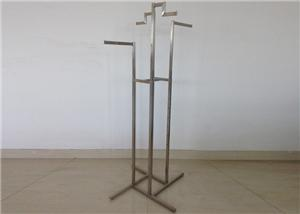 Stainless Clothing Display Stand