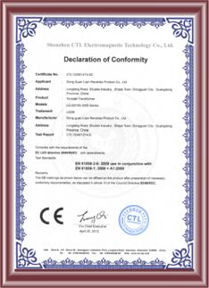 Certificazione CE