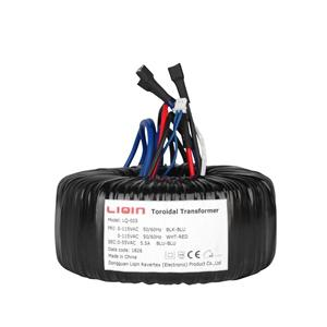 New Electric Power Supply Toroidal Transformer