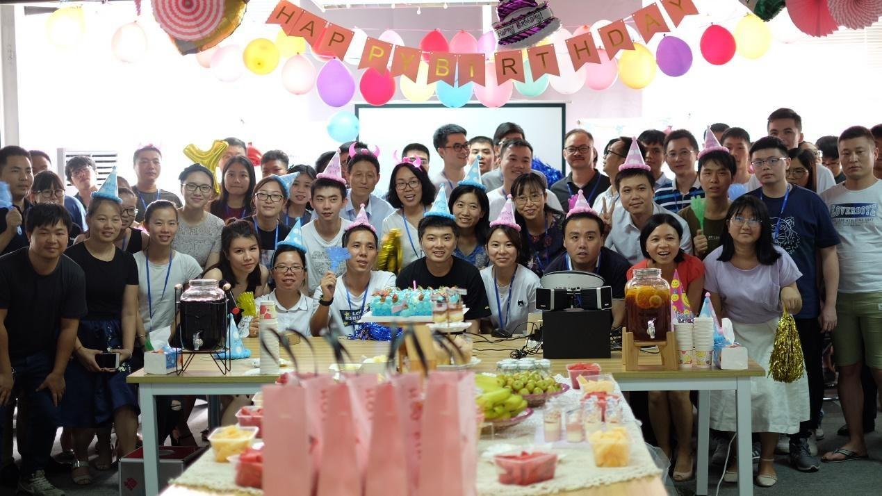 Company employee birthday party