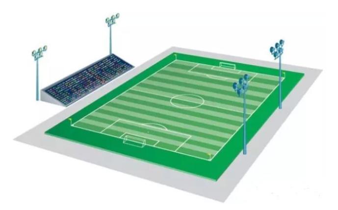 هل تعرف شيئا عن كرة القدم الإضاءة الميدان؟