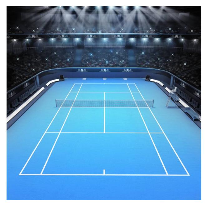 كيف اختيار الإضاءة المحكمة التنس؟