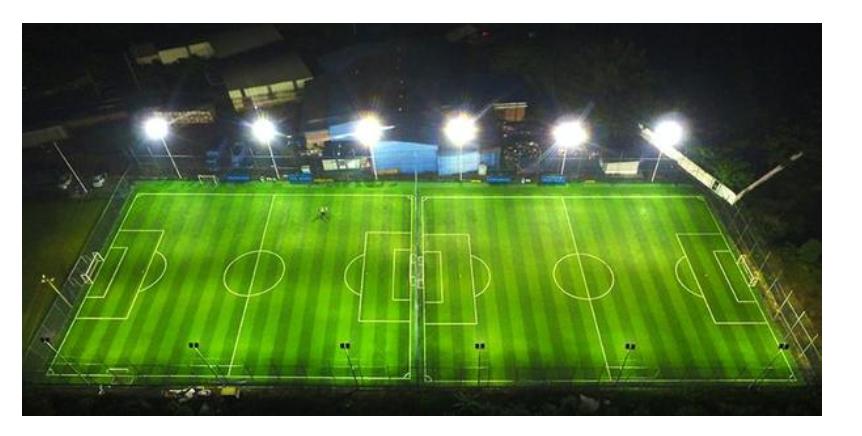 led light for stadium