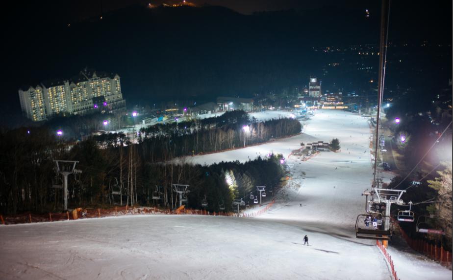 ski resort light