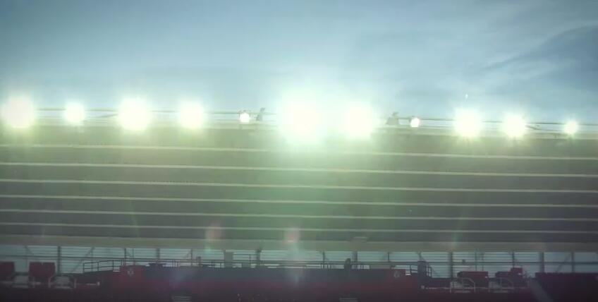 led sports lighting for football field