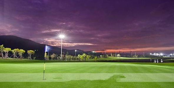 golf arena lights