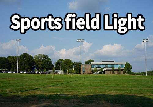 720W DLC Listed sports field lighting for North America market