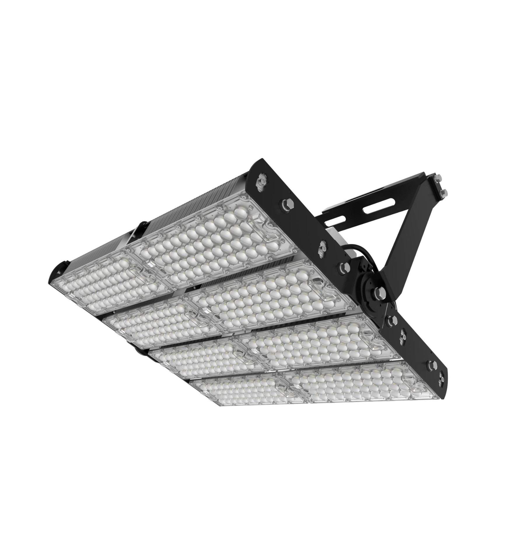 800W Solar Led High Mast Lighting