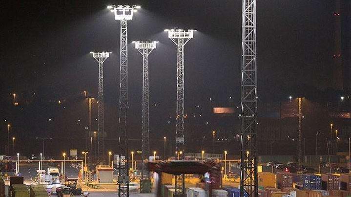 high mast area lighting