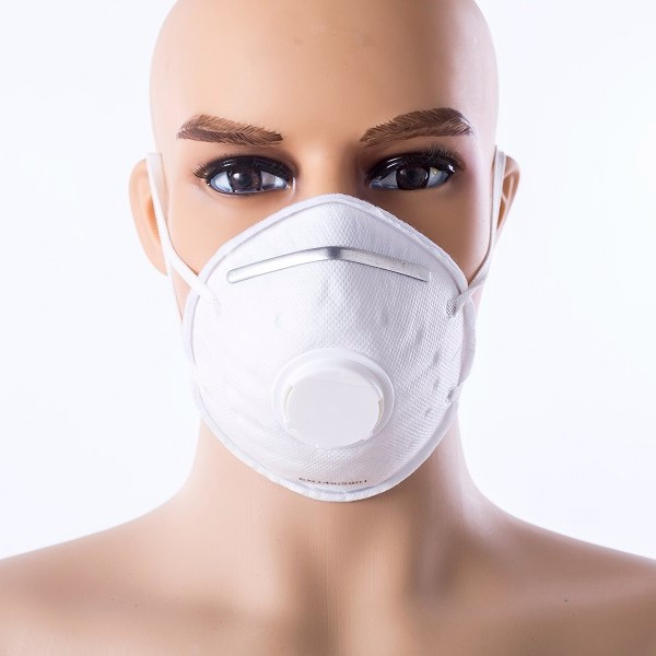 N95 Cone Style Dust Mask With Valve