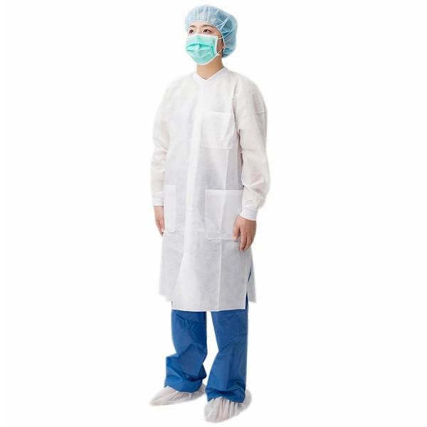 Disposable Non Woven Lab Coat