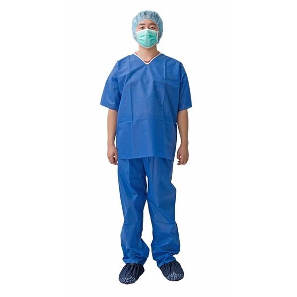 Disposable Non Woven Scrub Suit