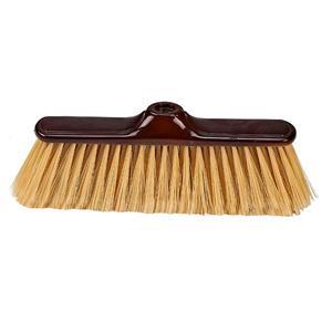 Plastic broom head