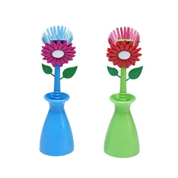 Flower Dish Brush Manufacturers, Flower Dish Brush Factory, Supply Flower Dish Brush