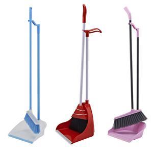 Long Handled Dustpan And Broom Set
