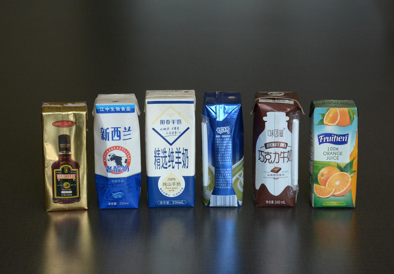 Sacos para embalagem de líquidos